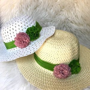 Mommy and me summer hats